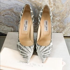 c2083c42202 Jimmy Choo Shoes - Jimmy Choo Anouk Pearl Crystal Embellished Pump